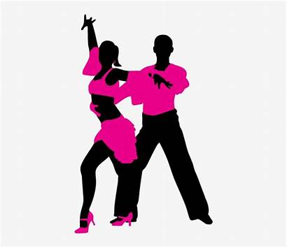 Dancing Salsa Clipart Couple Silhouette Married Pngkit
