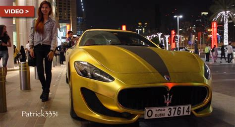 gold maserati granturismo just another day in dubai maserati granturismo with gold
