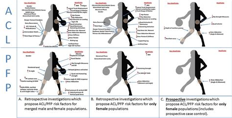 high knee abduction moments  common risk factors