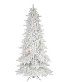 Flocked Artificial Christmas Trees by White Fir Artificial Christmas Tree Christmas Tree Market