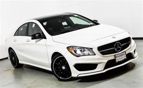 Basic info on mercedes benz cla coupe 250 4matic. 2016 Mercedes-Benz CLA 250 4MATIC Coupe | Cirrus White U16345