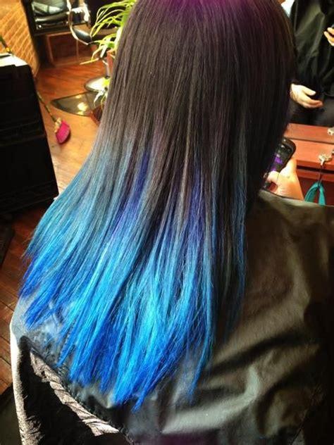25 Best Ideas About Blue Dip Dye On Pinterest Dip Dyed