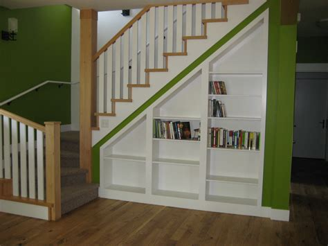 Diy Under Stairs Shelves With Tutorial