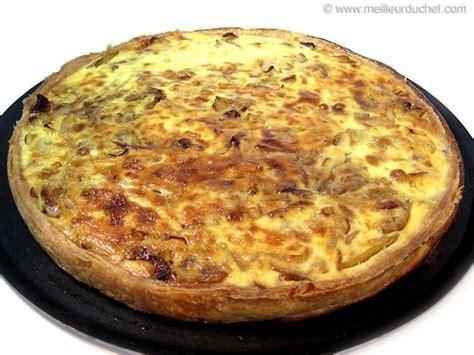 Tarte à l oignon Fiche recette avec photos MeilleurduChef com
