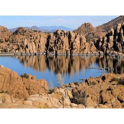 Watson Lake and the Granite Dells in Prescott Arizona