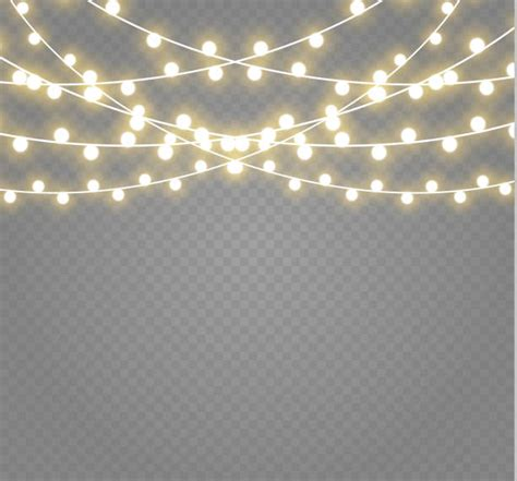 String Lights Clipart by Best String Light Illustrations Royalty Free Vector