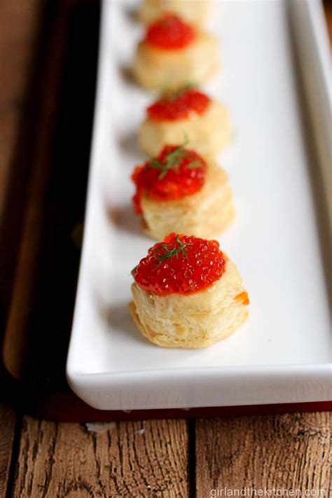 puff pastry canapes ideas puff pastry caviar canapes and the kitchen