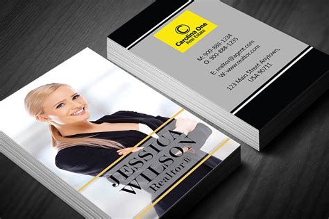 Business Cards Real Estate Carolina One Real Estate Makeup Artist Business Card Free Download Avery Clip Art Lawyer Ai Artwork Design Your Own Template Stock 5371 American Psycho Scene Pokemon Restaurant