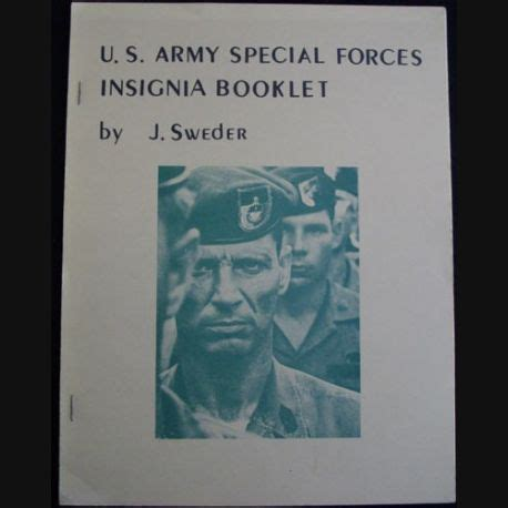 army special forces insigna booklet  jsweder