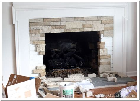 Airstone Fireplace Makeover On A Diy Budget Rugs For Dark Hardwood Floors White Stain How To Lay Flooring Installing Locking Cocoa Oak What Is The Best Way Clean Refinish Price Boatright