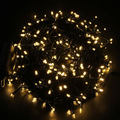 battery operated christmas lights w timer 72 300 led christmas xmas outdoor indoor string light