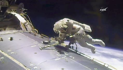 nasa plans emergency spacewalk international space station the blade