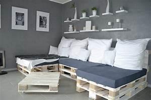 Sofa Aus Paletten Matratze : ihr neues wochenendprojekt palettensofa selber bauen ~ Michelbontemps.com Haus und Dekorationen