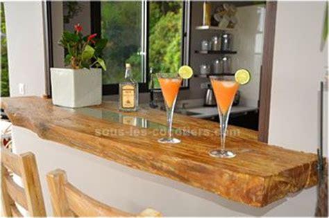 passe plats pour cuisine pas mal le passe plat en bois brut massif pour le bar