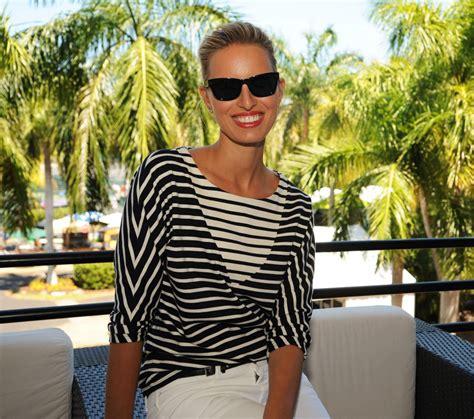 Karolina Kurkova - Lacoste Suite at the Women's Finals ...