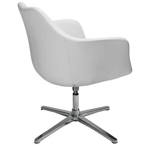 giovana white lounge chair  euro style eurway