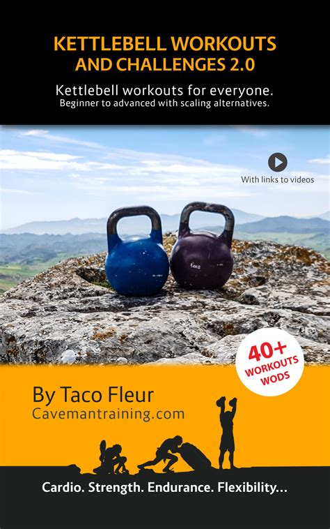 kettlebell books training press workouts crossfit devils wods challenges exercise complete guide