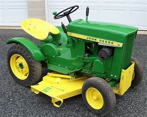 1963 Jd 110 Garden Tractor Sold For  2 300