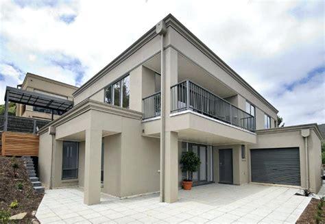 fashionable design modern house colours exterior view