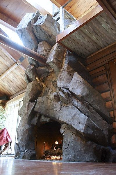 made rock for fireplaces westcoast rockscapes are not just for the pool create a