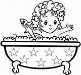 Bath Clipart Take Coloring Bathroom Outline Pages Taking Bathtime Clip Shower Bubble Toilet Rewards Program Child Getcoloringpages Bird Printable Rodeos sketch template