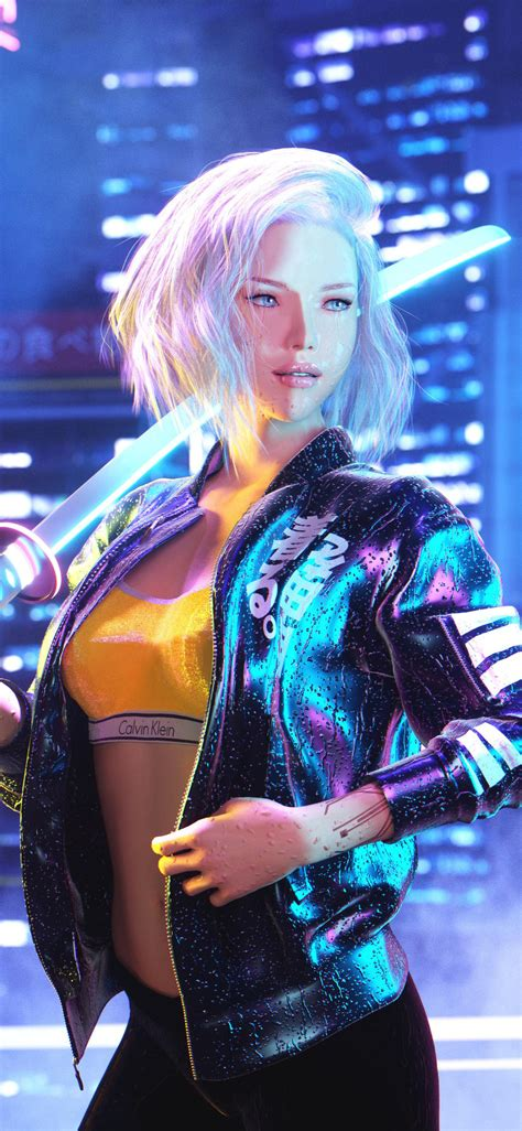 Hd wallpapers and background images. 1125x2436 Cyberpunk 2077 Girl 4k 2020 Iphone XS,Iphone 10,Iphone X HD 4k Wallpapers, Images ...