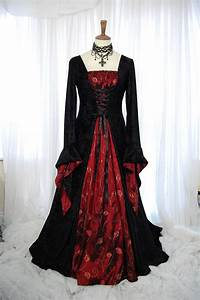 medieval pagan wedding prom dress gown lotr hand fasting size With wiccan wedding dress