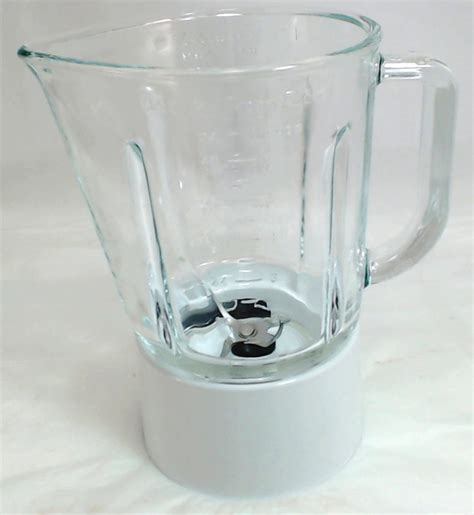 W10279528  Kitchenaid Blender Glass Jar Assembly White