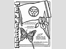 Tennessee Coloring Page crayolacom