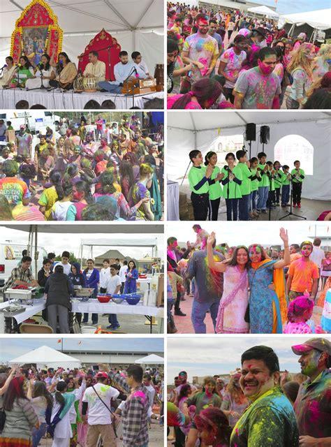 dallas colors dallas holi festival celebration 2017 radha krishna temple