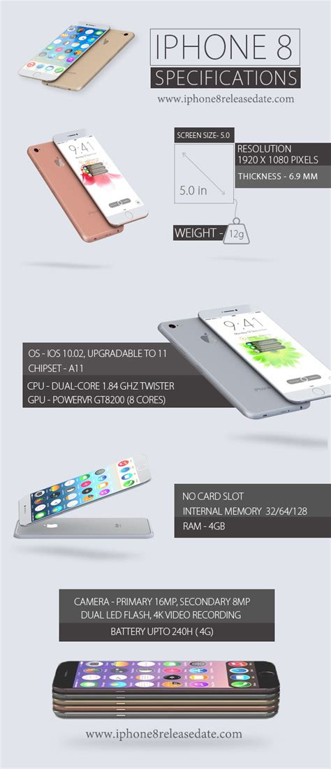 apple iphone 8 rumors specs iphone 8 release date price specs rumors everything we