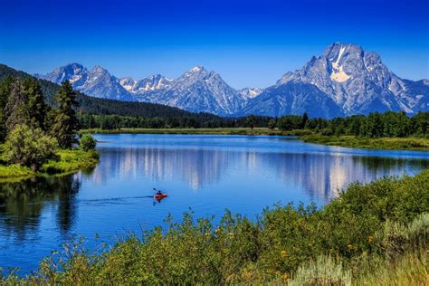 Mount Moran Snake River Grand Teton National Park Wyoming