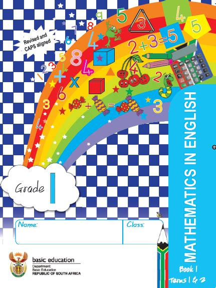 mathematics grade  english work book  term   wced