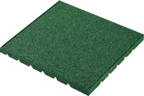 piastrelle gomma antitrauma piastrelle antitrauma verde 50x50 sp 5 5cm c spinotti