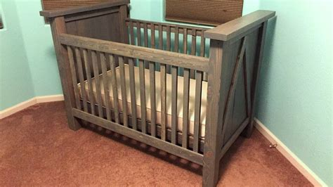 diy baby crib diy custom baby crib build timelapse