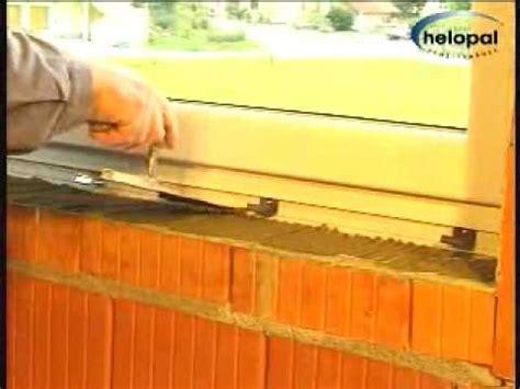 montagevideo helopal innenfensterbank mit moertelbett youtube