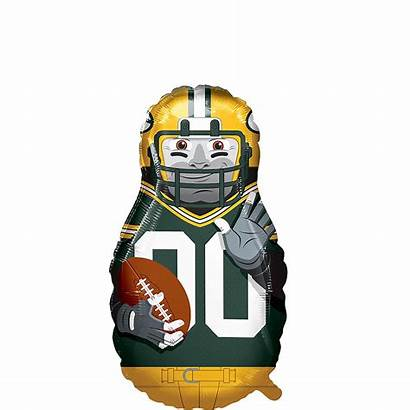 Bay Packers Balloon Football Player Giant Party