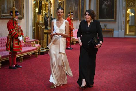 Rose Hanbury Attended The State Dinner Banquet Amid Prince