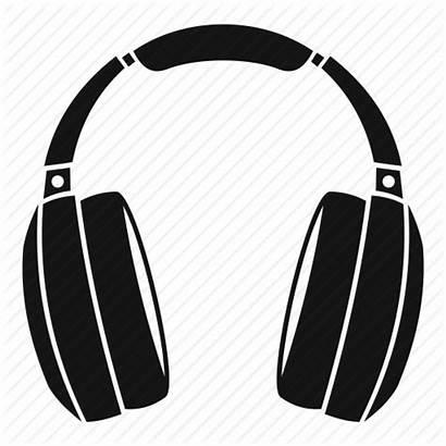 Dj Headset Headphones Icon Stereo Transparent Audio
