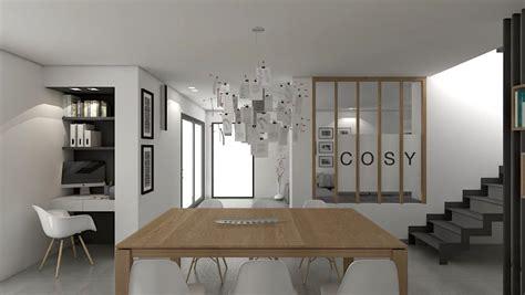 espace bureau dans salon amenager bureau dans salon bureau la maison dans un