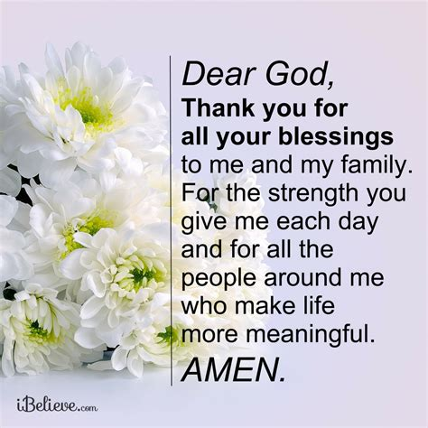 Thank God For All Your Blessings Quotes