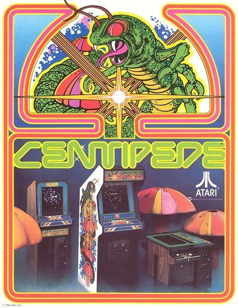 Guscade Ataris Centipede 1980