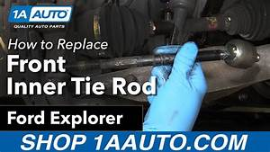 How To Replace Front Inner Tie Rod 06