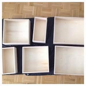 Etagere Murale Rectangle : etagere bois rectangle ~ Teatrodelosmanantiales.com Idées de Décoration