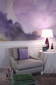 painting, your, walls, with, watercolors