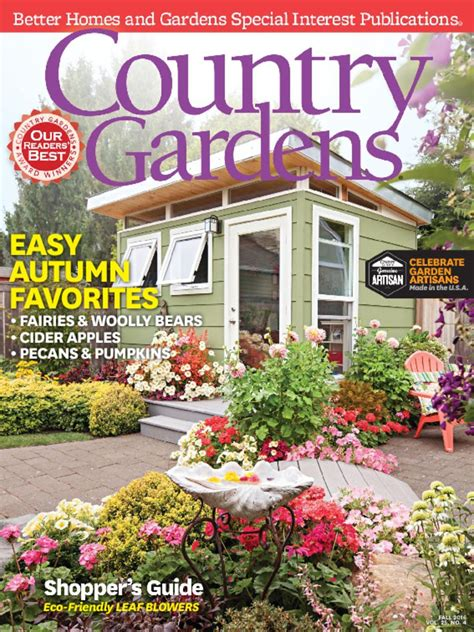 country gardens magazine subscription from 19 80 compare