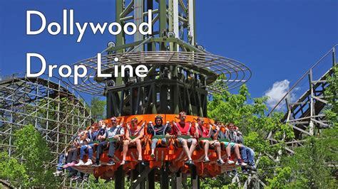 tower rides drop   dollywood  funtime youtube