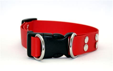 Kaklasiksna sunim Double ring, platums 2.5 cm - Double ring - Suņu kaklasiksnas, iemaukti un ...