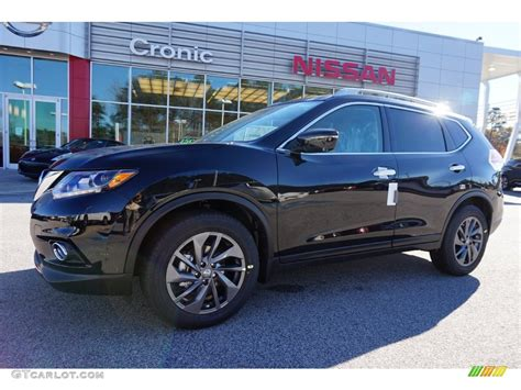 black nissan rogue 2016 magnetic black nissan rogue sl 109147208 photo 6
