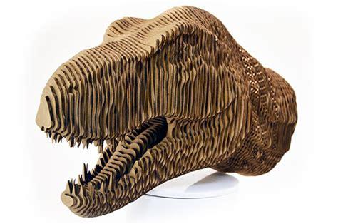 Laser Cut 3D Model T-Rex